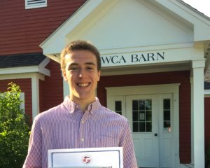 WCA_2016_Kay_White_Scholarship_Aidan_Terhune
